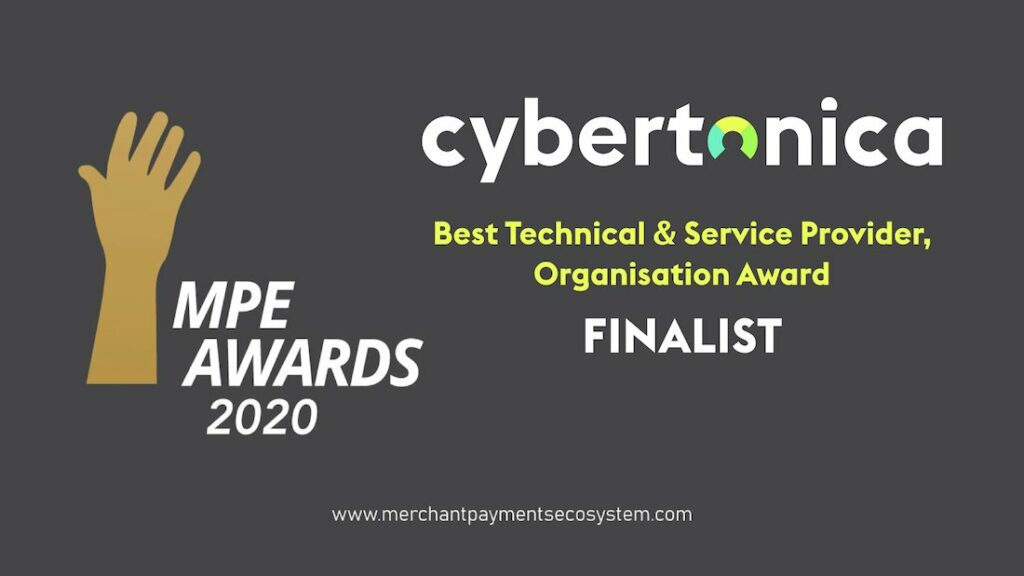 Cybertonica nominated by Merchant Paymenet association for best technical & seervice provider award