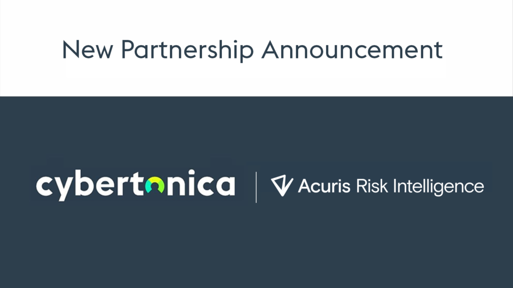 New Partnership announcement: Cybertonica and Acuris Risk intelligence