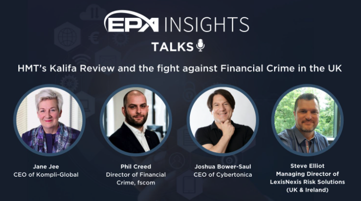 EPA insights  fight against financial crime with Joshua Bower-Saul as a speaker