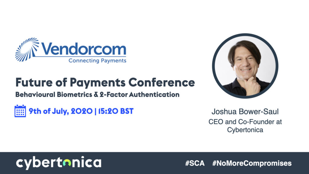 Joshua Bower-Saul attends Vendorcom future of payments conference