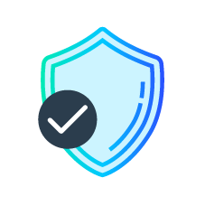 Payment icon for decreasing fraud by Identifing rogue actors & friendly fraud and detect cyber, bot, and malware threats.