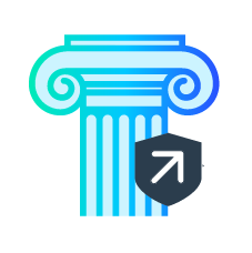 Reduce false positives icon by up to 80% using machine learning